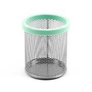 Design Ideas Mesh Digit Pencil Cup, Mint (3419802)