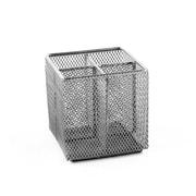Design Ideas Mesh Pencil Cube, Silver (3420419)