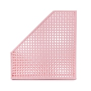 Design Ideas Steel Edison Magazine File, Pink (3434825)