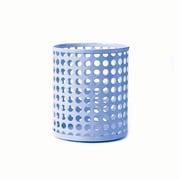 Design Ideas Steel Edison Pencil Cup, Periwinkle (3434902)