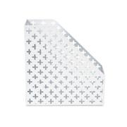 Design Ideas Steel Euler Magazine File, White (3442161)