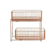 Design Ideas Lincoln Cabinet Basket, Copper (3536086)