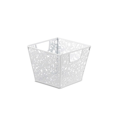 Design Ideas Vinea Storage Nest, Small, White (5420201)