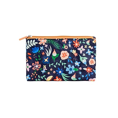 Design Ideas Folio Pouch, Medium, Floral Ripstop (6602049)