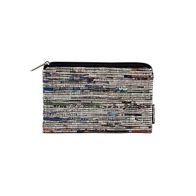 Design Ideas Folio Pouch, Medium, Black Newsprint (6602114)