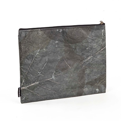 Design Ideas Folio Pouch, Large, Gray Foliage (6602328)