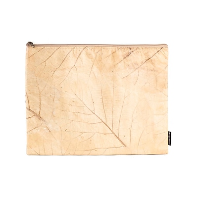 Design Ideas Folio Pouch, Large, Tan Foliage (6602329)