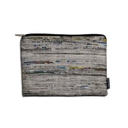 Design Ideas Folio Pouch, Tablet, Black Newsprint (6602332)