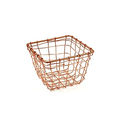 Design Ideas Cabo Storage Nest, Extra Small, Copper (8758556)