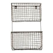 Design Ideas Wire Cabo Wall Pockets, Natural (8758591)