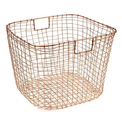 Design Ideas Cabo Harvest Basket, Copper (8758976)