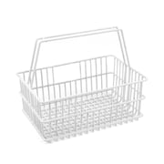 Design Ideas LaCrate Basket, Small, White (1001)