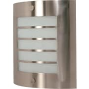 Satco Lighting 1 Light Brushed Nickel Wall Sconce with Frosted Glass Shade (STL-SAT609442)