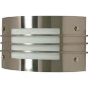 Satco Lighting 1 Light Brushed Nickel Wall Sconce with Frosted Glass Shade (STL-SAT609367)