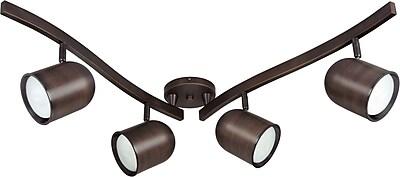 Satco Lighting 3 Light - R30 - Bullet Swivel Track Kit - 15w CFL Included (STL-SAT433818)