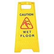 """Seco Wet Floor Sign 24"""" x 12"""""""