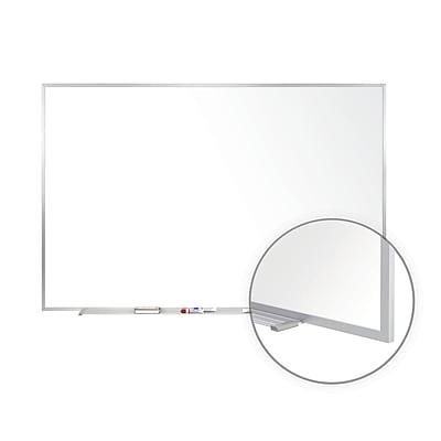 Ghent 3'H x 5'W Non-Magnetic Whiteboard with Aluminum Frame (M2-35-4)
