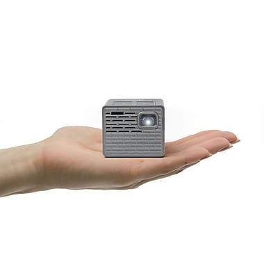 Aaxa p4 x pico dlp mini projector soft black price for Dlp pico projector price