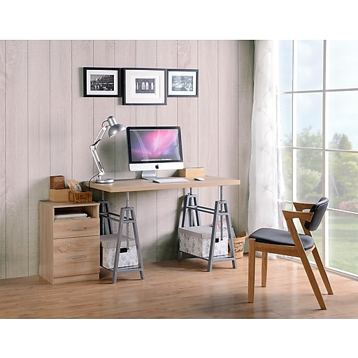 Os Home And Office Furniture Model 22222 Adjule Height Writing Desk With Sy Metal Base Https Www Staples 3p S7 Is