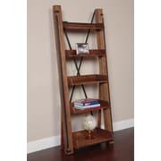OS Home & Office Furniture American Furniture Classics Model 33200 Industrial Open Shelf Ladder Bookcase