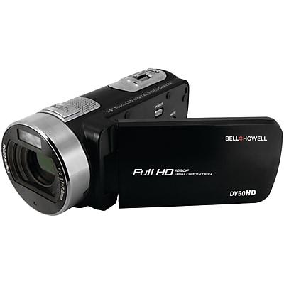 Image of Bell+Howell DV50HD-BK 20.0-Megapixel 1080p DV50HD Fun Flix Camcorder (Black)