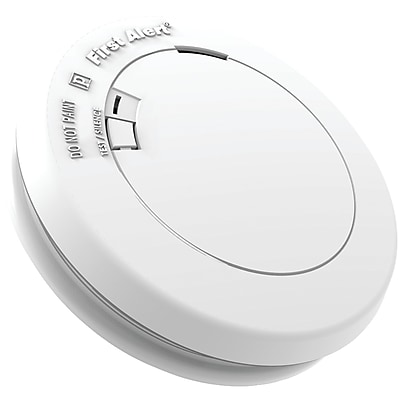 First Alert 10-Year Sealed-Battery Photoelectric Smoke Alarm (PR710)