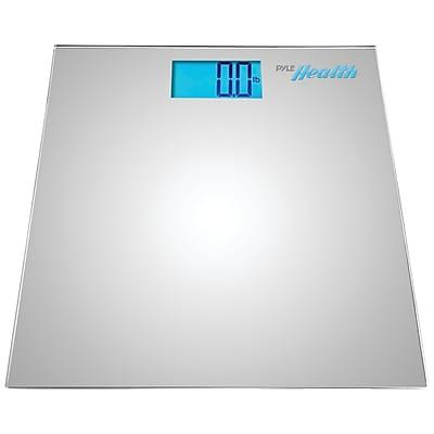 Pyle Bluetooth Digital Weight Scale, Silver (PHLSCBT2SL)