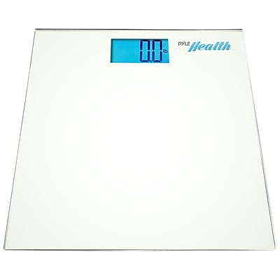 Pyle Bluetooth Digital Weight Scale, White (PHLSCBT2WT)