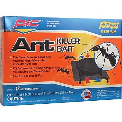 Pic-Corp Plastic Ant-Killing Systems, 12 pk (PLASBON)