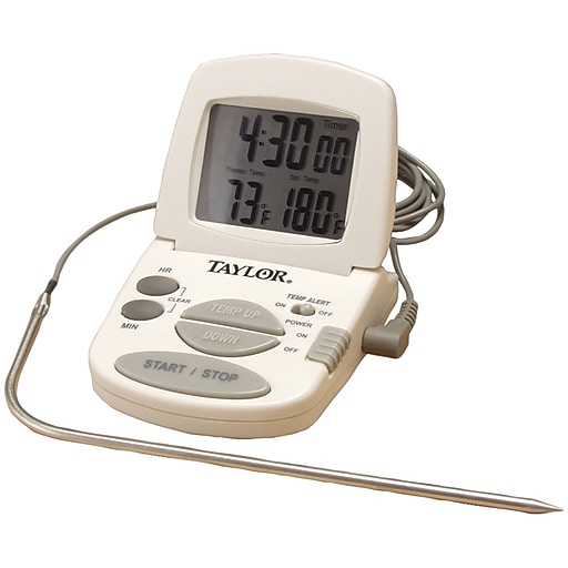 Taylor Precision Products Digital Cooking Thermometer/Timer (1470N)