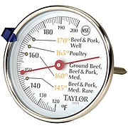 Taylor Precision Products Meat Dial Thermometer (5939N)