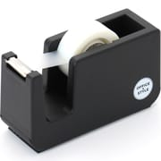 Office + Style Desktop Tape Dispenser, Non-Skid Weighted Base, Black (OS-TDBLK)