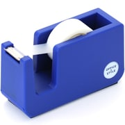 Office + Style Desktop Tape Dispenser, Non-Skid Weighted Base, Blue (OS-TDBLU)