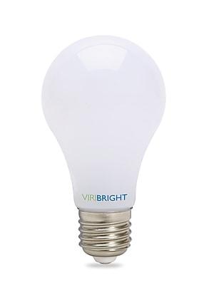 Viribright 40W Equivalent Cool White 4000K, Dimmable LED Light Bulb, Medium Base 600+ Lumens, 12 Pack (751678)