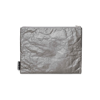 Design Ideas Folio Pouch, Large, Gray Ripstop (6602021)