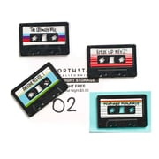 Design Ideas MixTape Magnets, Set of 4 (3205093)