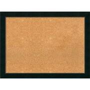 "Amanti Art Framed Cork Board Large Corvino Black 31"" x 23"" Frame Black (DSW3979220)"