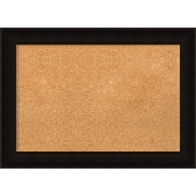 Amanti Art Framed Cork Board Medium Manteaux Black 28 x 20 Frame Black (DSW3994448)
