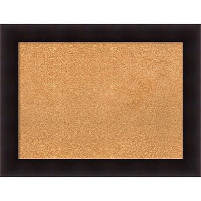 Amanti Art Framed Cork Board Large Portico Espresso 34 x 26 Frame Espresso (DSW3994465) 24288948