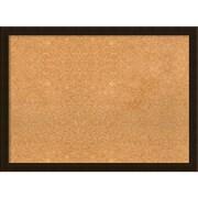 Amanti Art Framed Cork Board Large Espresso Brown 30 x 22 Frame Espresso (DSW3994562)