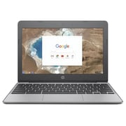 "HP® 11V020NR 11.6"" Chromebook, Intel Celeron N3060, 16GB eMMC, 4GB RAM, Chrome, Intel HD Graphics 400"