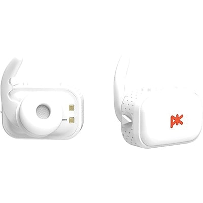 PK Paris 400210 K''asq Full Wireless Bluetooth In-The-Ear Earbud, White