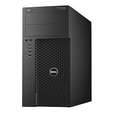 Dell™ Precision 3620 Intel Core i7-6700, 1TB HDD, 16GB, Windows 7 Pro, Intel HD 530 Business Workstation