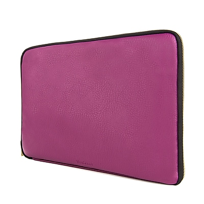 Vangoddy PU Leather Sleeve Case for 15.6 Inch Laptop, Purple (PT_RDYLEA773_HP)