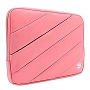 Vangoddy Nylon Sleeve Case for 14 inch 15.6 Inch Laptop, Pink (PT_NBKLEA114_HP)