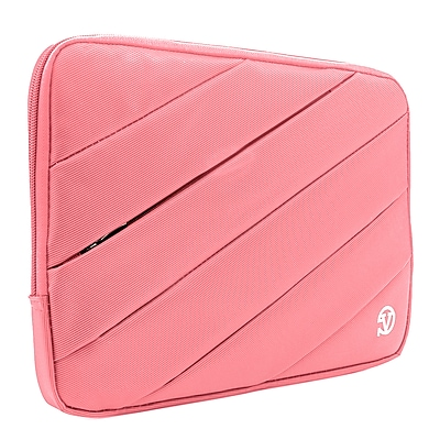 Vangoddy Nylon Sleeve Case for 13.3 inch Laptop, Pink (PT_NBKLEA104_HP)