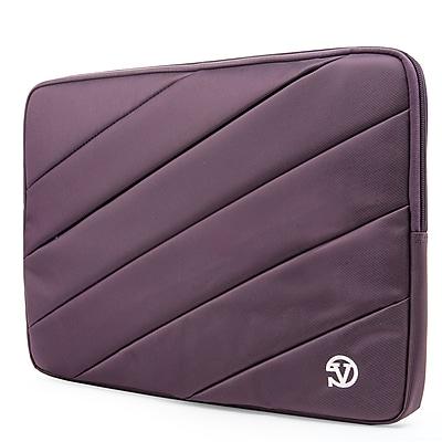 Vangoddy Nylon Sleeve Case for 14 inch 15.6 Inch Laptop, Purple (PT_NBKLEA113_HP)