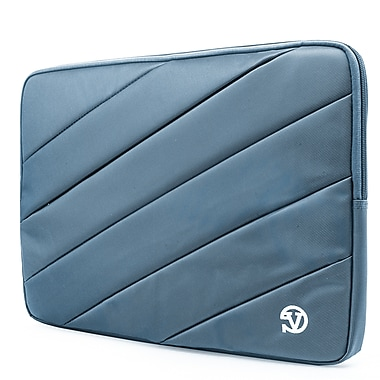 Vangoddy Nylon Sleeve Case for 14 inch 15.6 Inch Laptop, Aqua Blue (PT_NBKLEA112_HP)