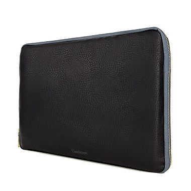 Vangoddy Leather Tablet Sleeve for iPad Samsung Galaxy Kindle Fire, Black (PT_RDYLEA591_HP)