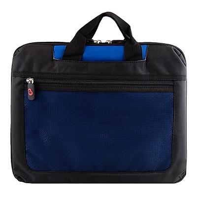 Vangoddy Nylon Mesh Shoulder Bag for 12 Inch Laptop, Blue (NBKLEA723)